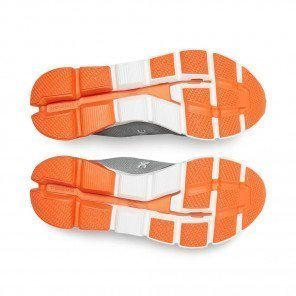ON Cloudflyer Grey   Orange Homme