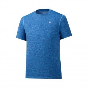MIZUNO Tee-Shirt manches courtes IMPULSE CORE Homme   Mazarine Blue   Collection Printemps-Été 2019